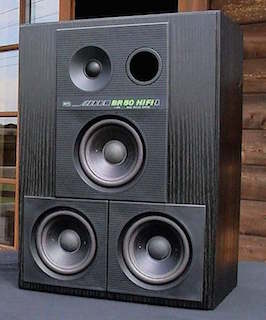 RFT-BR-50 German Cult Speakers